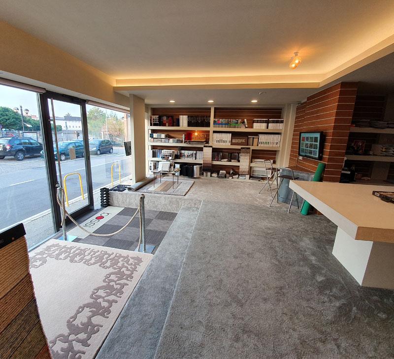 Corderia Bossi showroom